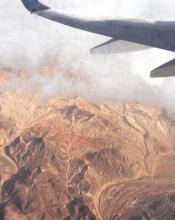Entre le Nevada et L'Arizona